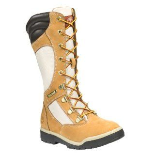 TIMBERLAND Kids Field Boot Tall Pre (Wheat 12.5 M) Shoes