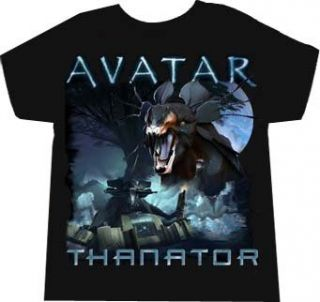 The Avatar Thanator Boys Youth Black T shirt Tee Clothing