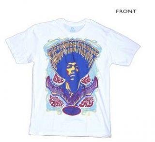 Jimi Hendrix   Live At The Fillmore T Shirt Clothing