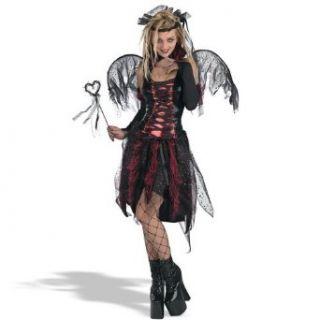 Child Vampire Fairy Dress   X Large 14 16 Clothing