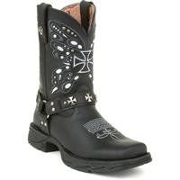 Flirt with Durango Womens Butterfly Cross Western Boots Shoes