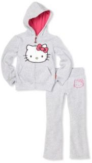 Hello Kitty Girls 7 16 Fleece Active Sweater Set with