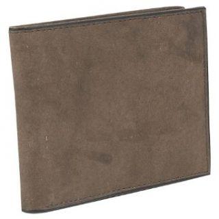 Rolfs Black Brass Mens Bifold Wallet   Brown Clothing