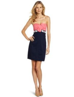 Lilly Pulitzer Womens Krissa Colorblock Dress: Clothing