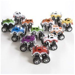 Monster Pullback Trucks   12 per unit Toys & Games
