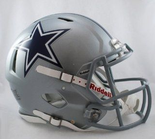 NFL Dallas Cowboys Speed Authentic Football Helmet Sports