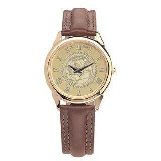 Harvard Medical School   Mens 18K Gold 5M Watch Brown: Watches