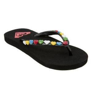 Roxy Cara Flip Flop   Girls Shoes