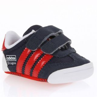 ADIDAS Baskets Adindoor Dragon bébé Bleu et rouge   Achat / Vente