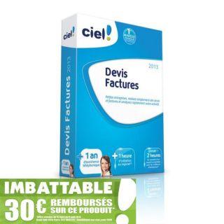 Ciel Devis Factures 2013 + 1 an dassistance   Achat / Vente LOGICIEL