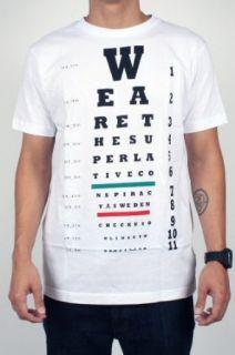 Wesc Young Mens Eye Chart T Shirt Clothing