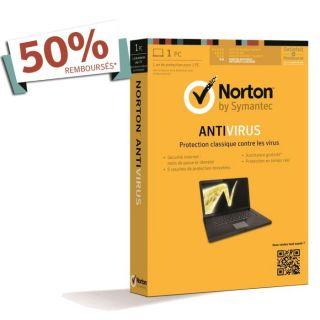2013 1an   1 Poste   Achat / Vente ANTIVIRUS Norton Antivirus 2013