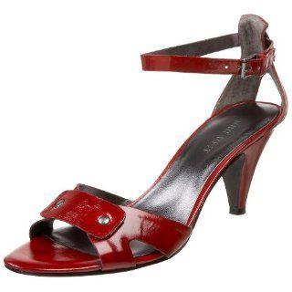 Nine West Womens Warrain Sandals,Dark Red,5 M US Shoes