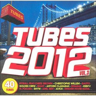 TUBES 2012 VOLUME 3   Compilation   Achat CD COMPILATION pas cher