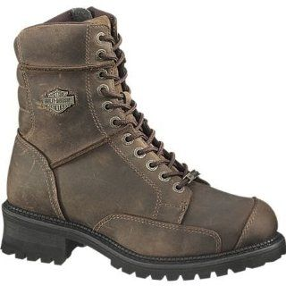 Harley Davidson Brown Casper Boots Shoes