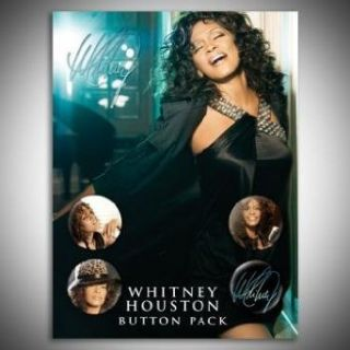 Whitney Houston   Button Pack Accessorie In Multi, Size O