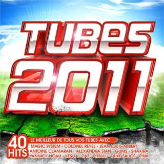TUBES 2011   Compilation (2CD)   Achat CD COMPILATION pas cher