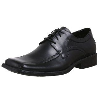 Steve Madden Mens Ebyt Oxford,Black Leather,15 M US Shoes