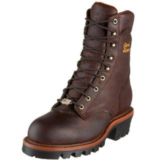 Chippewa Mens Super Logger Waterproof Insulated Boot Shoes