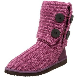 Miss Me Womens Cupcake 45A Sweater Boot,Berry,6 M US Shoes