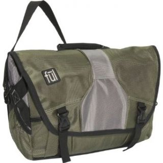 Laptop Messenger Bag (Millitary Green, 12 x 15 x 5.25 Inch) Clothing