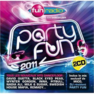 PARTY FUN 2011   Compilation   Achat CD COMPILATION pas cher