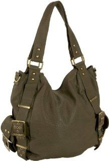 Melie Bianco Amelia Shoulder Bag,Olive,one size Shoes