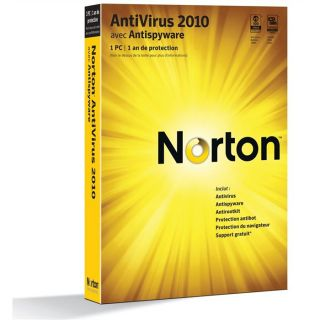 2010   Achat / Vente ANTIVIRUS Symantec Norton Antivirus 2010