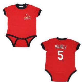 MLB St. Louis Cardinals Pujols #5 Baby / Infant One Piece