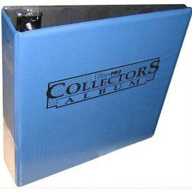 Ultra Pro Card Collectors Notebook (3 Inch D Ring Binder