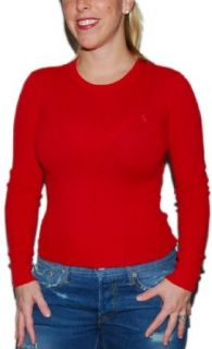 Polo Ralph Lauren Womens Cashmere Sweater Red Pony XS