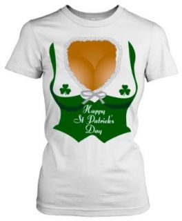 St. Patricks Day Cleavage shirt funny Womens St Patricks