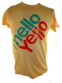 Mello Yello Mens T Shirt   Soft Drink Logo on Yellow