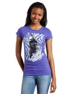 Bravado Juniors Justin Bieber Zebra Womens T shirt