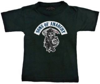 Sons of Anarchy Reaper Logo Toddler Black T shirt
