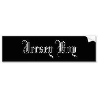 Jersey Girl Bumper Stickers, Jersey Girl Bumper Sticker Designs