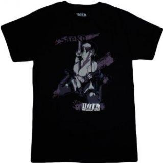 High School of the Dead Saeko with Sword T Shirt