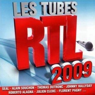 LES TUBES RTL 2009   Achat CD VARIETE INTERNATIONALE pas cher