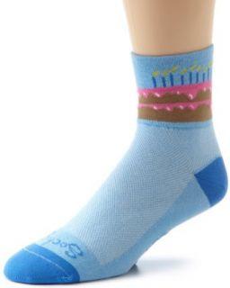 SockGuy Mens Birthday Socks, Blue, Small/Medium Clothing