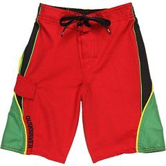 Quiksilver Boys 2 7 Top To Bottom Boardshort, Rasta, Small