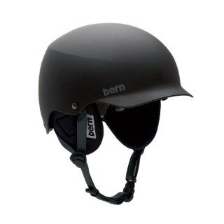 Bern Baker Water Helmet (Matte Black, Large) Sports