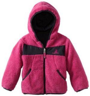 Rugged Bear Girls 2 6x Reversible Plush Sherpa Jacket