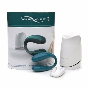 We Vibe 3 Wireless Silicone G Spot Vibrator for Couples