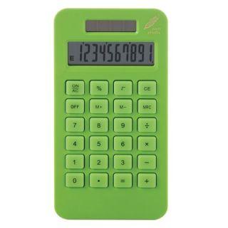 10 chiffres en Mais verte CL122V   Calculatrice solaire 10