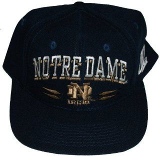 Notre Dame Fighting Irish Navy Plastic Snapback Adjustable