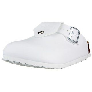 Shetland from Birko Flor in White with a regular insole Shoes
