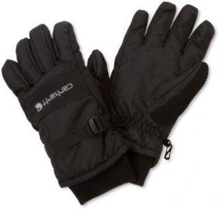 Carhartt Mens W.P. Waterproof Insulated Work Glove, Black
