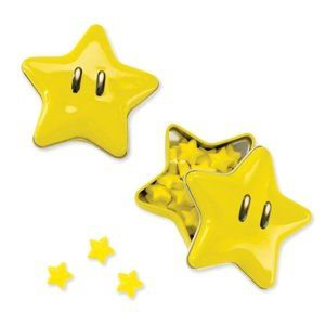 Super Mario Bros. Starman Candy Tin Party Accessory