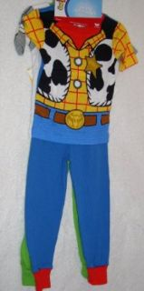 Disney Pixar Toy Story 4 pc Cotton Pajama Set   Woody
