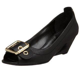 Jessica Simpson Womens Raymond Wedge,Black,5 M US Shoes